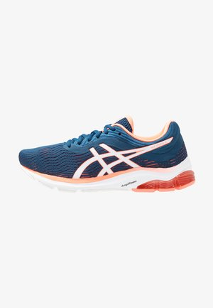 GEL-PULSE 11 - Neutral running shoes - mako blue/sun coral