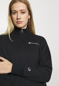 Champion - HALF ZIP ROCHESTER - Collegepaita - black - 4