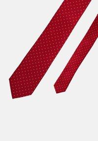 Calvin Klein - DOT TIE  - Tie - red - 3