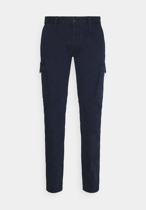 YORK - Cargo trousers - navy blazer