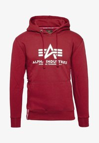 Alpha Industries - Hoodie - rbf red - 0
