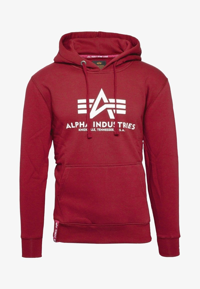 Alpha Industries - Hoodie - rbf red