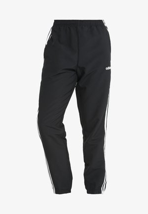 WIND - Tracksuit bottoms - black/white