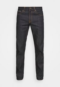 Nudie Jeans - GRITTY JACKSON - Vaqueros rectos - dark-blue denim - 3