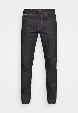 GRITTY JACKSON - Straight leg jeans - dark-blue denim