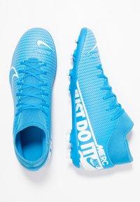 Nike Performance - MERCURIAL 7 CLUB FG/MG - Moulded stud football boots - blue hero/white/obsidian - 1