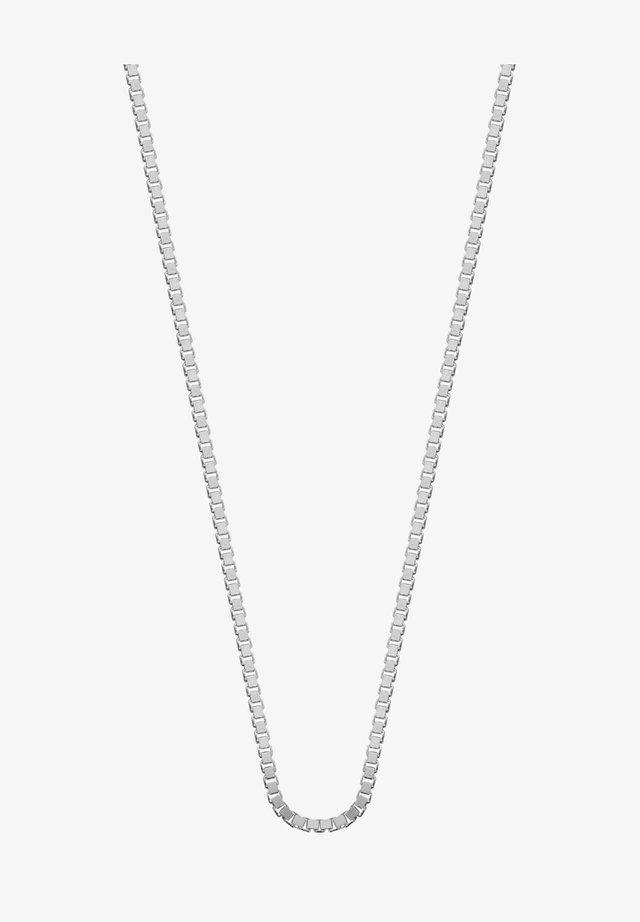 MET VENETIAANSE SCHAKEL  - Ketting - zilver