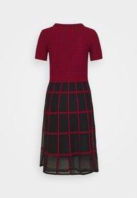 Marc Cain - Day dress - burgundy - 1