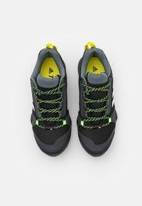 adidas Performance - TERREX AX3 - Hiking shoes - core black/footwear white/acid yellow - 3