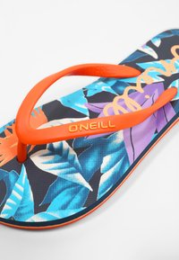 O'Neill - MOYA  - T-bar sandals - blue with pink or purple - 6
