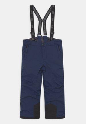 POWAI UNISEX - Snow pants - dark navy