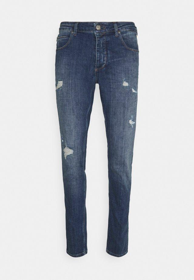 REY - Jeans slim fit - dark-blue denim
