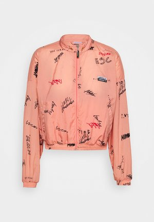 TRACK TOP - Trainingsjacke - trace pink