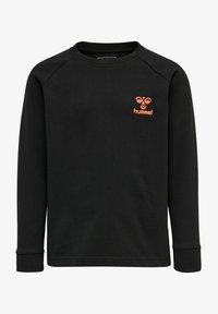Hummel - HMLACTION - Sweatshirt - black fiesta - 0