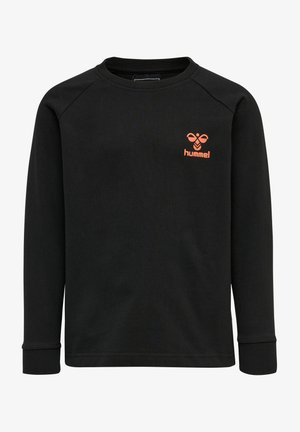 HMLACTION - Sweatshirts - black fiesta