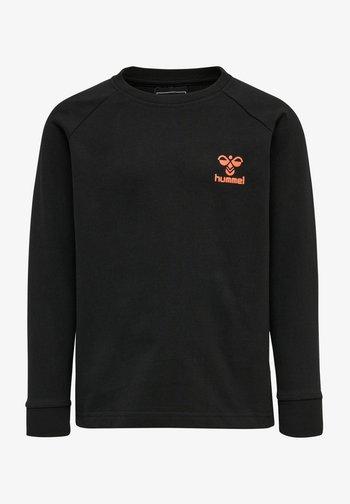 HMLACTION - Sweatshirt - black fiesta