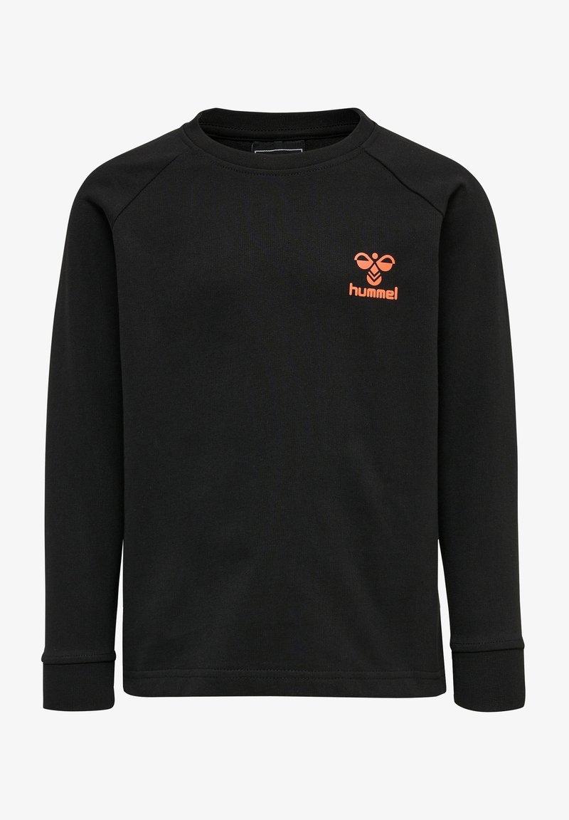 Hummel - HMLACTION - Sweatshirt - black fiesta
