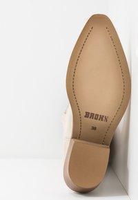 Bronx - RAIDDAN - Cowboy/Biker boots - sand - 6