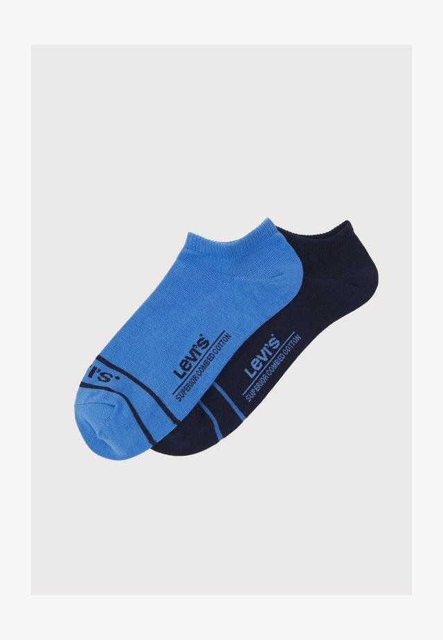 LOW CUT SPORT 2 PACK UNISEX - Ponožky - blue combo