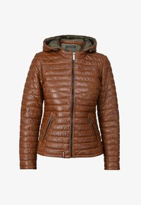 Oakwood - POWER - Leather jacket - cognac color - 4