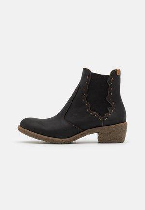 Korte laarzen - pleasant black/quera