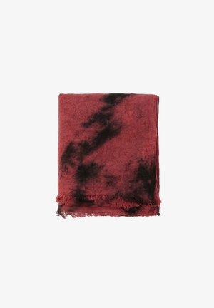 Šála - mottled pink