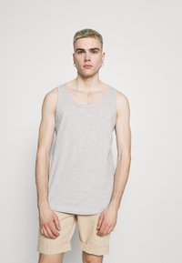 Only & Sons - ONSPIECE RELAXED TANK - Top - light grey melange - 0