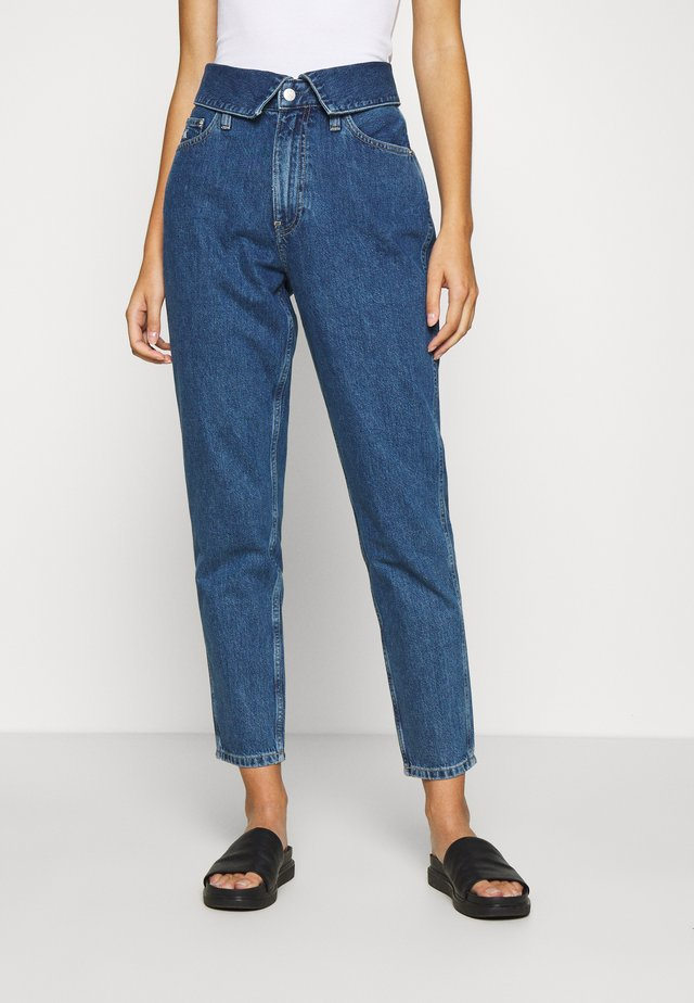 MOM - Jeans baggy - dark blue