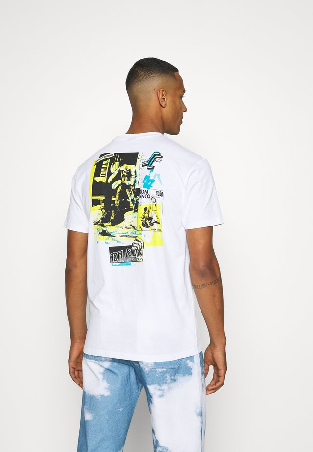 UNISEX KNOX ARCHIVE - T-shirts med print - white