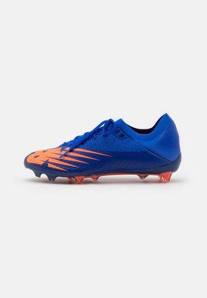 Moulded stud football boots - cobalt