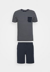 Pier One - Pyjama - dark blue/white - 0
