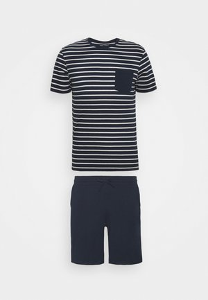 Pyjama - dark blue/white
