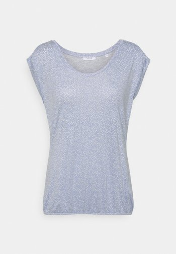 STROPI ROS - Print T-shirt - blue mood