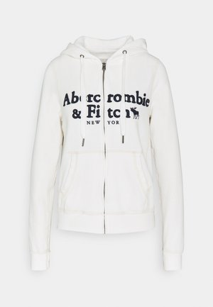 LONG LIFE FULL ZIP - Hettejakke - white