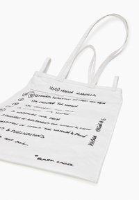 MM6 Maison Margiela - BORSA - Tote bag - white - 5