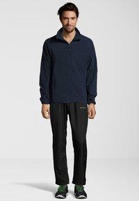 Whistler - Fleece jacket - dark blue - 1