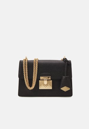 CRIWIEL - Across body bag - jet black/gold