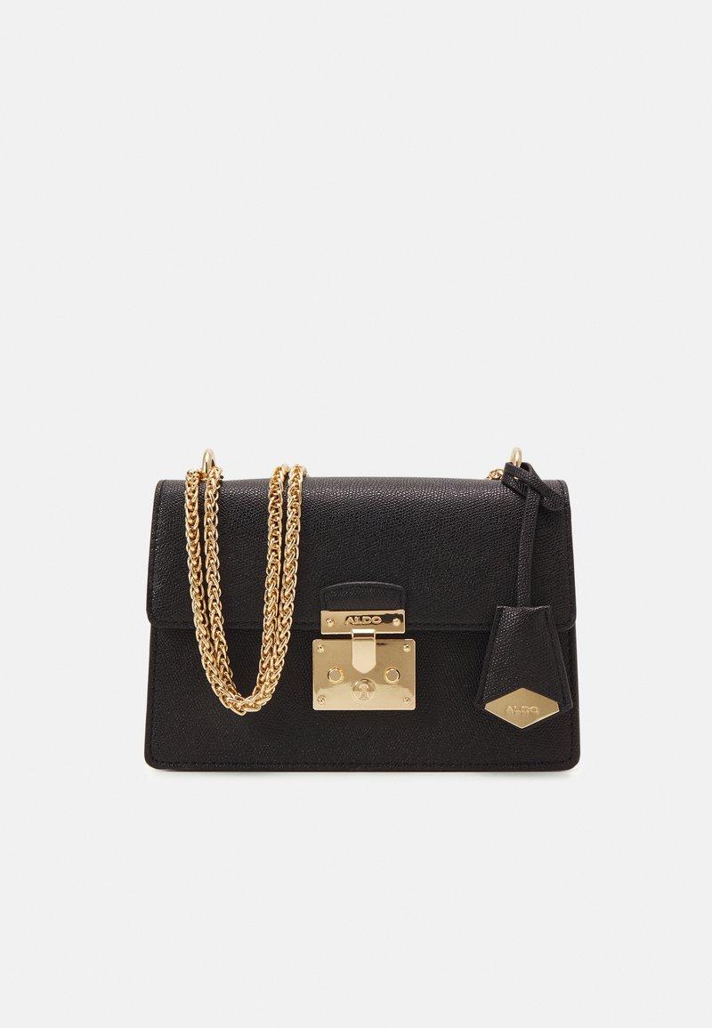 ALDO - CRIWIEL - Across body bag - jet black/gold