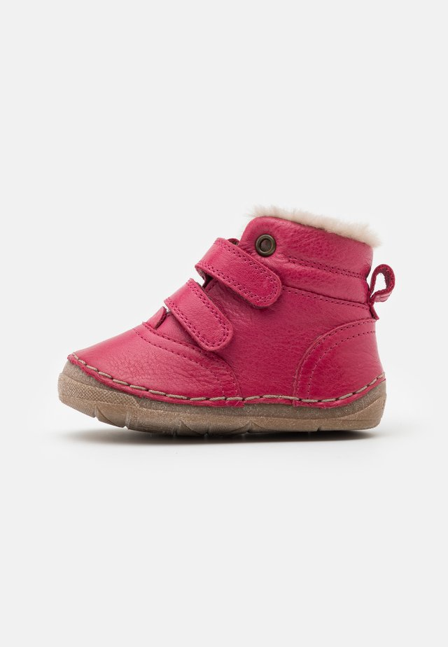 PAIX WINTER SHOES WIDE FIT - Vauvan kengät - fuxia