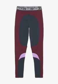 Molo - OLYSSIA - Legging - bordeaux, dark blue - 0