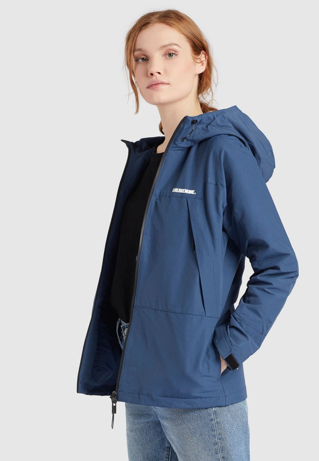 ROZA - Giacca outdoor - blau denim