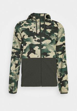 Outdoorová bunda - sequoia/black