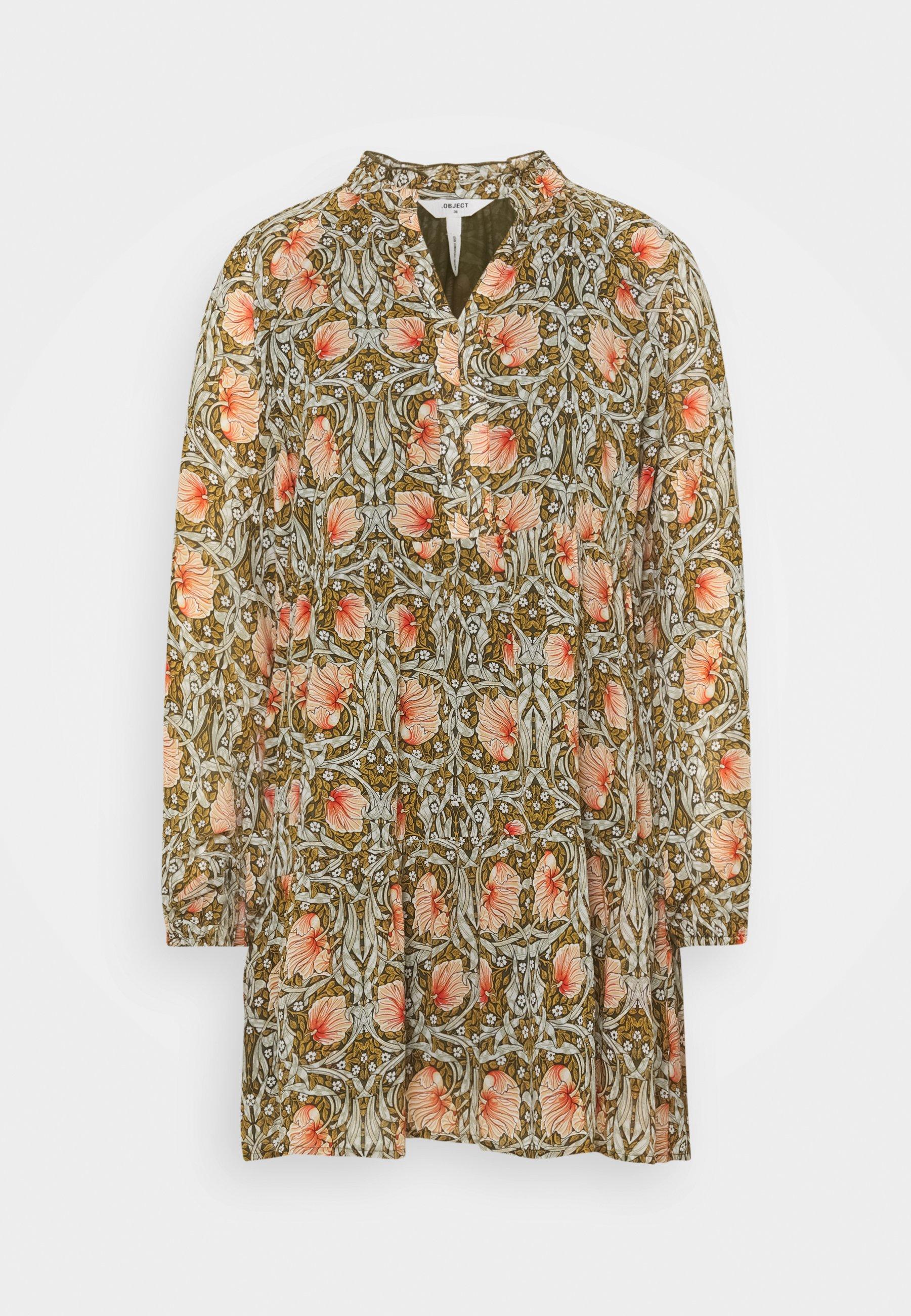 Women OBJSTEPH GIA SHORT DRESS - Day dress