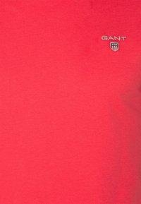 GANT - ORIGINAL SLIM V NECK - T-shirt - bas - paradise pink - 2