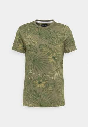 LEANY - T-shirt print - army