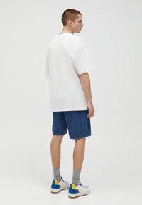 PULL&BEAR - CALIFORNIA STWD - T-Shirt print - white - 2