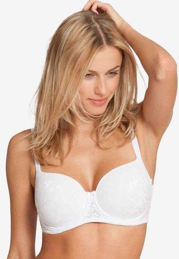 BODY MAKE-UP BLOSSOM WPM - Underwired bra - white