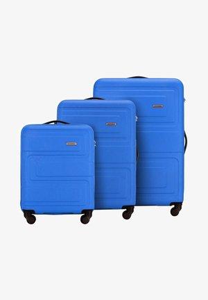 SET - Luggage set - blau