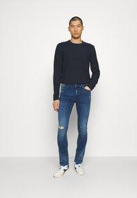 Only & Sons - ONSLOOM ZIP - Jeans slim fit - blue denim - 1