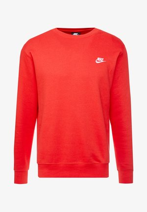 CLUB - Sweatshirt - university red/white